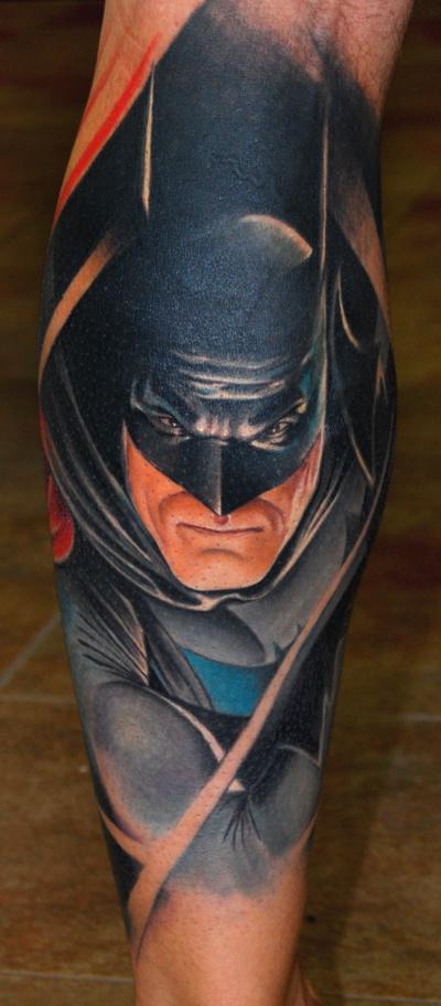 Batman Tattoos, seriously?   Bat Fan Diaries