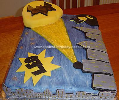 Batman Birthday Cakes on Batman Cake 21a
