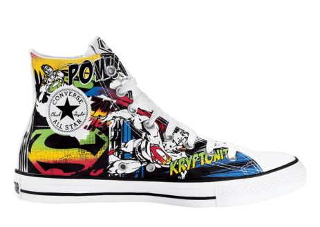 converse marvel comics