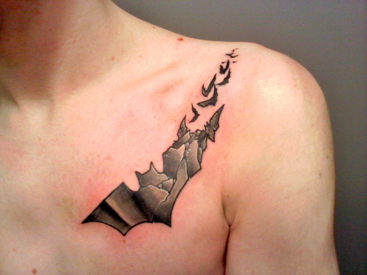 Categories: Art , Batman Tags: batman tattoos , fuck yeah tattoos